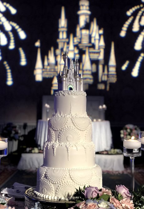 Magic Kingdom Castle Wedding Cake